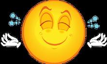 Peaceful emoticon
